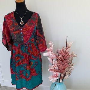 Alchemy Fashion Abstract Dress size S/M